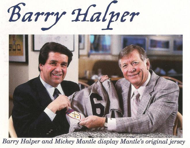 Barry Halper Net Worth