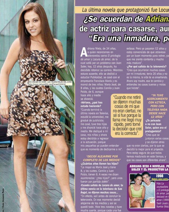 Adriana Nieto Net Worth